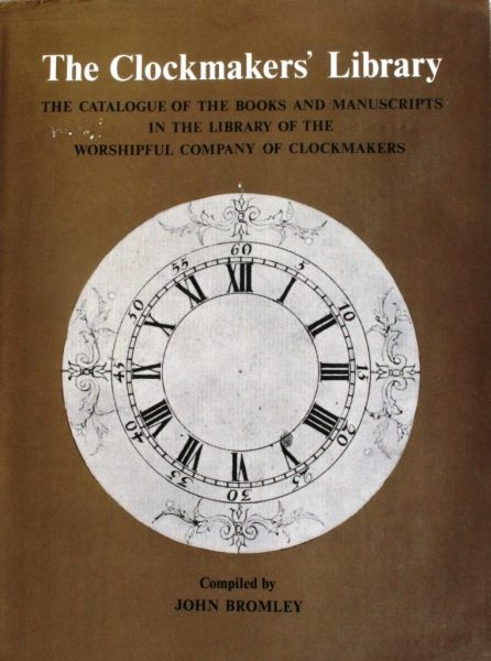 The Clockmakers' Library – Bromley, John