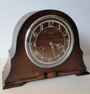 Enfield two train mantel clock